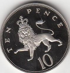 العملة > 10بنس, 1985-1992 - المملكة المتحدة  - reverse
