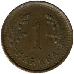 Münze > 1Mark, 1950 - Finnland  (Copper /brown color/) - reverse