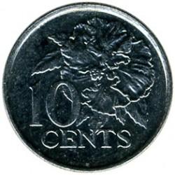 Кованица > 10центи, 1976-2016 - Тринидад и Тобаго  - reverse
