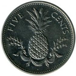 Münze > 5Cent, 1974-2006 - Bahamas  - reverse