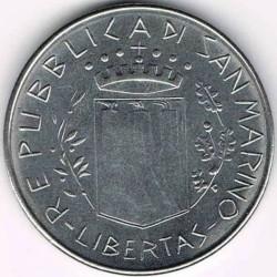 Монета > 100лір, 1981 - Сан-Марино  (Мир) - obverse