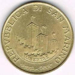 Moneda > 200lire, 1993 - San Marino  - obverse