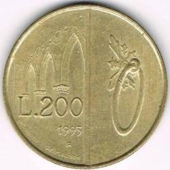 Moneda > 200lire, 1993 - San Marino  - reverse