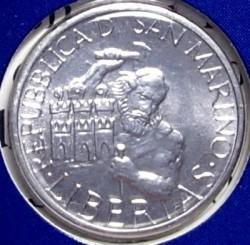 Moneda > 1lira, 1994 - San Marino  - obverse