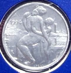 Moneda > 1lira, 1994 - San Marino  - reverse