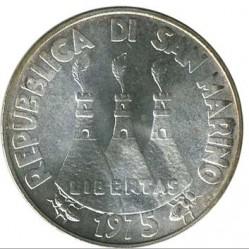 Монета > 500лір, 1975 - Сан-Марино  (Любов у тварин) - obverse