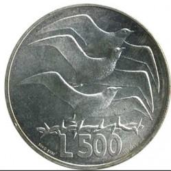 Монета > 500лір, 1975 - Сан-Марино  (Любов у тварин) - reverse