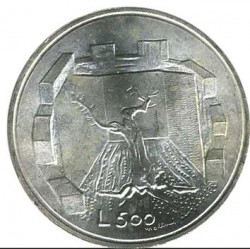 Монета > 500лір, 1976 - Сан-Марино  (Республіка) - obverse