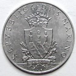Moneda > 10lire, 1979 - San Marino  (Òrgans Institucionals del Estat ) - obverse