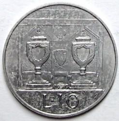 Moneda > 10lire, 1979 - San Marino  (Òrgans Institucionals del Estat ) - reverse