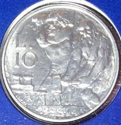 Moneda > 10lire, 1994 - San Marino  - reverse