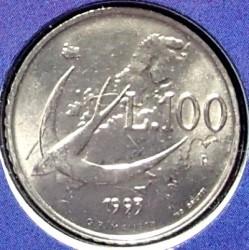 Moneda > 100lire, 1993 - San Marino  - reverse