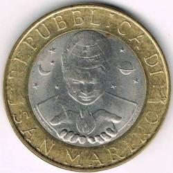 Монета > 1000лір, 2000 - Сан-Марино  - obverse