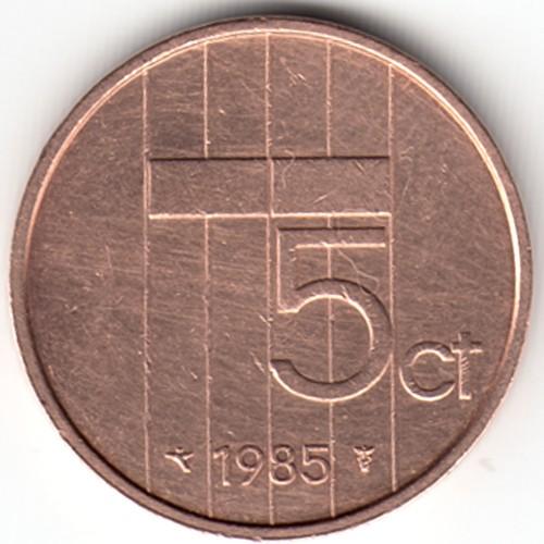 5 Cent 1982 2001 Niederlande Münzen Wert Ucoinnet