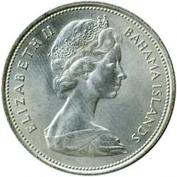 硬币  /> 50分, 1966-1970 - 巴哈马 - obverse