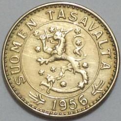 Münze > 20Mark, 1956 - Finnland  - obverse