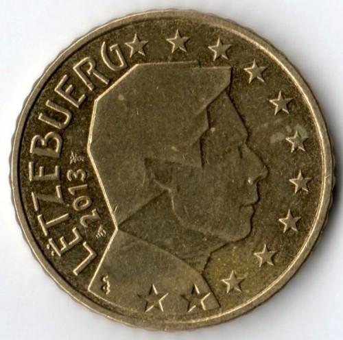 50 centesimi 2007 2018 lussemburgo km 91 catalogo for Moneta 50 centesimi