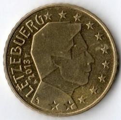 錢幣 > 50分, 2007-2018 - 盧森堡  - obverse