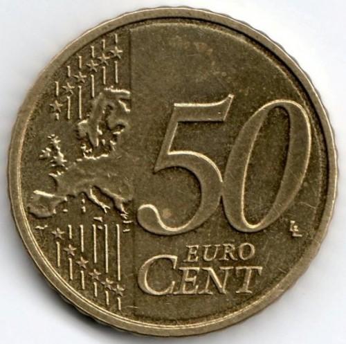 50 Eurocent 2007 2018 Luxemburg Münzen Wert Ucoinnet