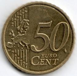 Монета > 50евроцентов, 2007-2019 - Люксембург  - reverse