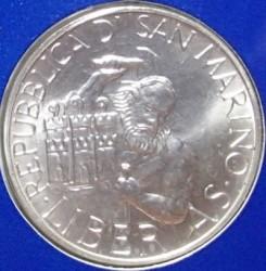 Moneda > 1.000lire, 1994 - San Marino  (Fundador de la primera Església a San Marino) - obverse
