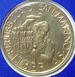 Moneda > 20liras, 1994 - San Marino  - obverse