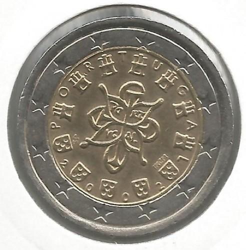 2 Euro 2002 2007 Portugal Coin Value Ucoinnet