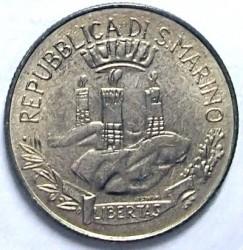 Монета > 200лір, 1982 - Сан-Марино  (Соціальні досягнення) - obverse