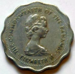 Moneda > 10cents, 1973 - Bahames  (THE COMMONWEALTH OF THE BAHAMAS) - obverse