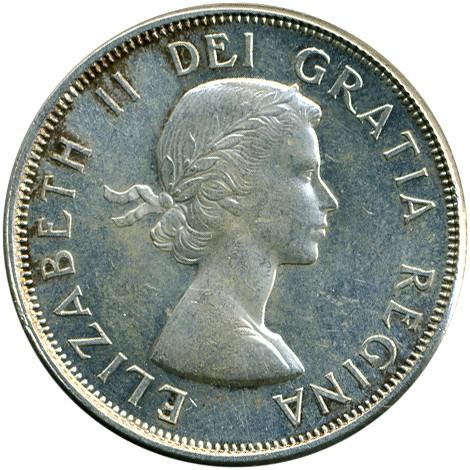 50 Cent 1959 1964 Kanada Münzen Wert Ucoinnet