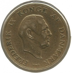 Coin > 2kroner, 1948 - Denmark  - reverse