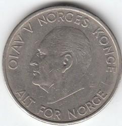 Coin > 5kroner, 1963 - Norway  - obverse