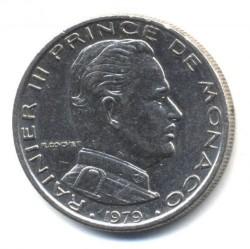 Munt > 1franc, 1960-1995 - Monaco  - reverse