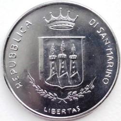 Moneda > 50liras, 1983 - San Marino  (Amenaza Nuclear) - obverse