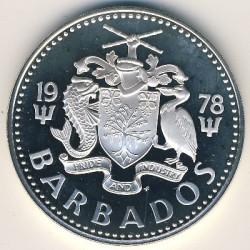 سکه > 5دلار, 1974-1984 - باربادوس  - obverse