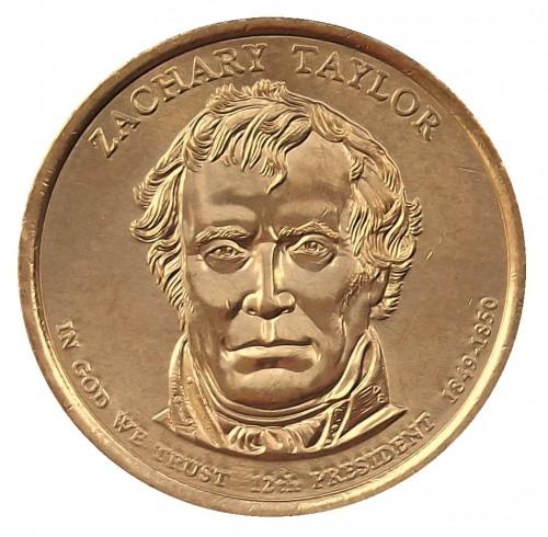 zachary taylor coin value