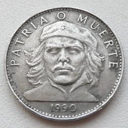 Moneta > 3pesos, 1990 - Kuba  (Ernesto Che Guevara) - reverse