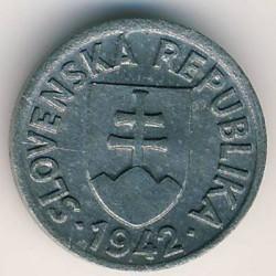 Minca > 5halierov, 1942 - Slovensko  - obverse