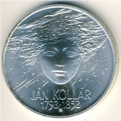 Moneta > 200corone, 1993 - Slovacchia  (200° anniversario - Nascita di Ján Kollár) - reverse