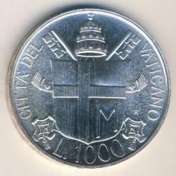 Moneta > 1000lirów, 1985 - Watykan  (7 rok pontyfikatu) - reverse