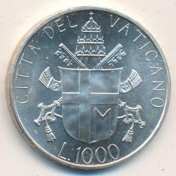 Mynt > 1000lire, 1986 - Vatikanstaten  - reverse