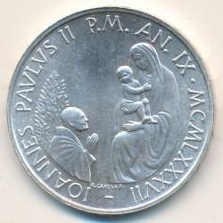Mynt > 1000lire, 1987 - Vatikanstaten  - obverse
