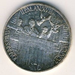 Монета > 1000лири, 1996 - Ватикан  - obverse