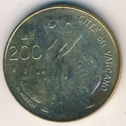 Mynt > 200lire, 1983 - Vatikanstaten  - obverse