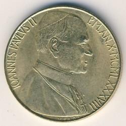 Monēta > 200liru, 1988 - Vatikāns  - obverse