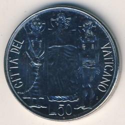Minca > 50lire, 1981 - Vatikán  - reverse