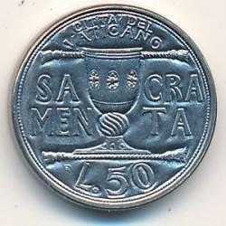 Mynt > 50lire, 1993 - Vatikanstaten  - reverse