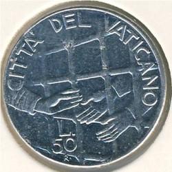 Minca > 50lire, 1994 - Vatikán  - reverse