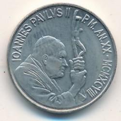 Minca > 50lire, 1998 - Vatikán  - obverse