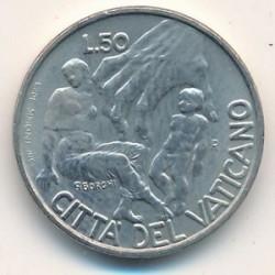 Кованица > 50лира, 1998 - Ватикан  - reverse